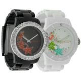 Два часовника Kahuna Black & White